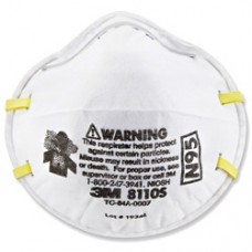 3M™ Particulate Respirator 8110S, N95, 20PCS/BOX (N95 MASK)