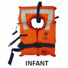 EVAL 2010-1 FOAM LIFEJACKET SOLAS 2010, INFANT WITH WHISTLE