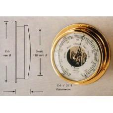 """HANSEATIC, P/N: 155/0111 BAROMETER, 5"""" DIAL"""