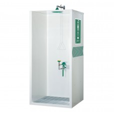 HAWS AXION MSR Booth Enclosed Shower and Eye/Face Wash MODEL: 8605WC