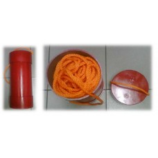 L, Container, PVC, for Lifebuoy Lifeline c/w: cover with handle: