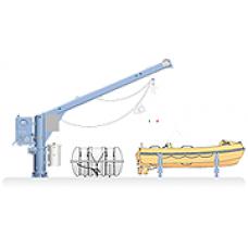 NED-DECK, Combi Rescue Boat/Life Raft Davits