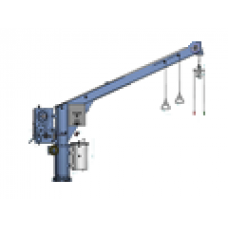 NED-DECK, HYDRAULIC SLEWING DAVIT, TYPE: SCH12-3.5R