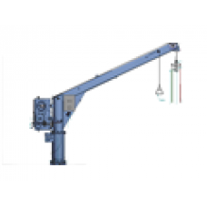 NED DECK, MANUAL SLEWING DAVIT, TYPE: SCM10-5.2R