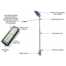 SEALITE, SOLAR LED AREA LIGHT, SAL-O1