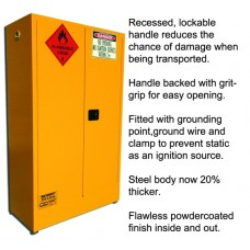 SPILL STATION, FLAMMABLE LIQUID STORAGE CABINETS