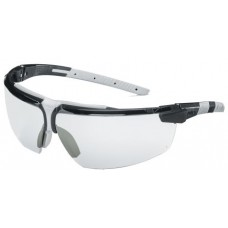 UVEX, 9190-280, i-3 CLEAR, BLACK/LIGHT GREY