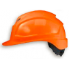 UVEX, PHEOS B-WR, LONG BRIM, VENTED, SAFETY HELMET, ORANGE, 9772 230