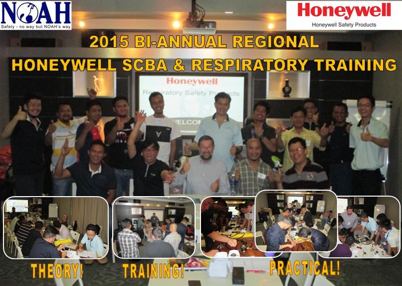HONEYWELL SCBA & RESPIRATORY TRAINING, 15th – 19th JUNE 2015