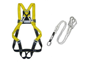 MILLER MB SERIES, HARNESS + LANYARD,  EN361 / PSB APPROVED