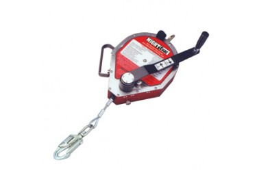 MILLER MIGHTEVAC UNIT, Recovery Winch c/w:  Fall Indicator & Swivel Hook, 50' (15M)