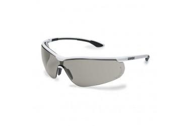 UVEX, 9193-280 SPORTSTYLE, WHITE/BLACK, LENS: GREY