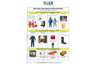 CERT Team Equipment Supply (Company Emergency Response Team) - scdf cert Tier 2