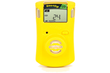 GAS CLIP, SGC-C, SINGLE GAS CLIP, CO, YELLOW, 2 YEAR, (CO) Carbon Monoxide detector
