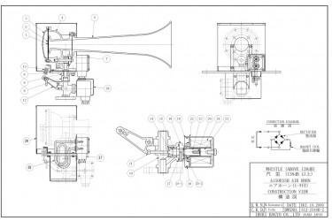 IBUKI  Air Horn spares MAGNET VALVE ASSEMBLY FOR A150ESS / A150ESSH