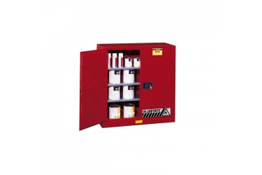 JUSTRITE, Sure-Grip® EX Flammable Safety Cabinet, 40 Gallon