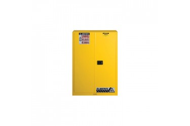 JUSTRITE, Sure-Grip® EX Flammable Safety Cabinet, 45 Gallon