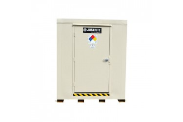 JUSTRITE, 2-Hour Fire-Rated Outdoor Safety Locker, 2-Drum - #912020