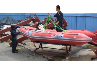 SERVICE - INFLATABLE BOAT