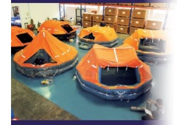 fujikura liferaft service station singapore