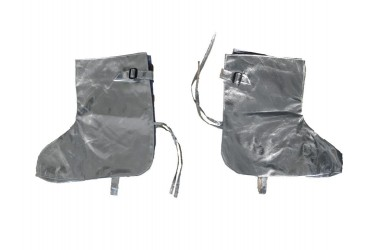 RS, ALUMINIZED FIREMAN GAITERS (OVERSHOES)