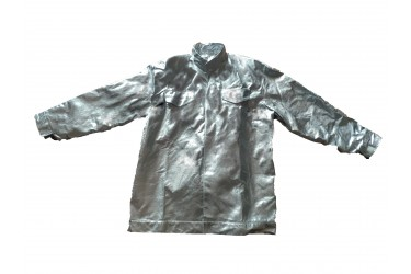 RS, ALUMINIZED FIREMAN JACKET ONLY, UNIVERSAL SIZE