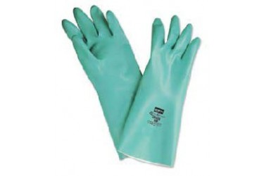 HONEYWELL, NITRIGUARD, LA132G/8, NITRILE GLOVES, SIZE:8