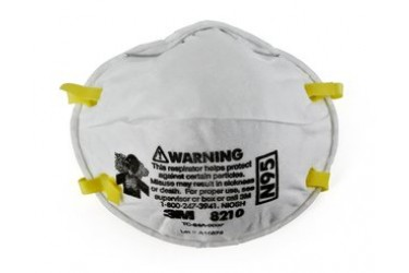 3M™ Particulate Respirator 8210, N95, 20PCS/BOX (N95 MASK)