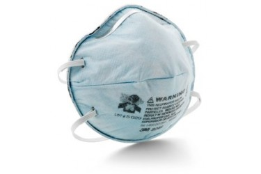 3M™ Particulate Respirator 8246, R95, with Nuisance Level Acid Gas Relief, 20 PCS/BOX (CAN BE USED AS A N95 MASK)