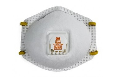 3M™ Particulate Respirator 8511, N95, 10PCS/BOX (N95 MASK)