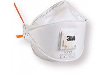 3M™ Particulate Respirator 9332, P3, 10PCS/BOX (EQUIVALENT TO N95 MASK)