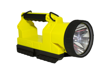 BRIGHTSTAR LIGHTHAWK LED GEN II, 07652, 4-CELL HANDLAMP 220VAC, YELLOW