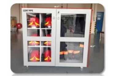 CABINET PERSONAL PROTECTIVE EQUIPMENT (PPE) STORAGE