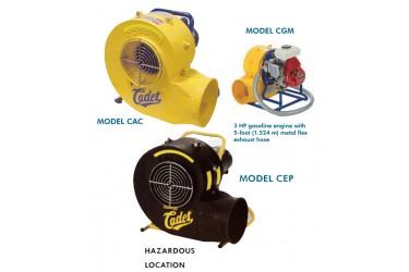 COPPUS® CADET, CENTRIFUGAL VENTILATOR MODELS, CAC / CEP