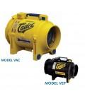RENT COPPUS® CADET, VANEAXIAL VENTILATOR MODELS, VAC / VEP