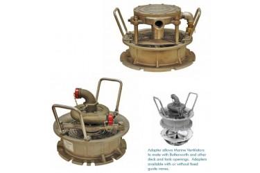 COPPUS® Marine Ventilators,Steam-, Air- and Water Turbine-Drive Ventilators