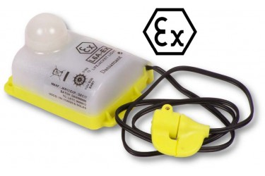 DANIAMANT, L6A-EX, LIFEJACKET LIGHT, WATER ACTIVATED