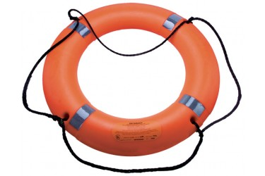DATREX LIFEBUOY, MODEL:DECKBUOY, 2.5KG C/W: REFLECTIVE TAPE