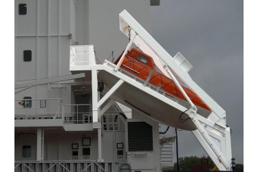DAVIT INTERNATIONAL, D-FH - DAVIT SYSTEM FOR FREE FALL LIFEBOAT