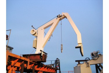 DAVIT INTERNATIONAL, D-FOS - BOAT HANDLING CRANE