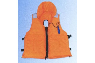 DONG FANG WYC 93-3, WORKVEST C/W COLLAR & BACK SLIT FOR HARNESS ENTRY