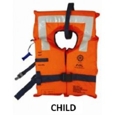 EVAL 2010-2 FOAM LIFEJACKET SOLAS 2010,CHILD WITH WHISTLE