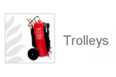 JOCKEL Fire Extinguisher - Trolley