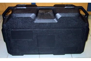 HONEYWELL FENZY (FRANCE) BLACK PLASTIC CARRYING CASE FOR BA SET, PN 1818267