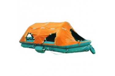 FUJIKURA FRN-R-25, Self-righting inflatable life raft