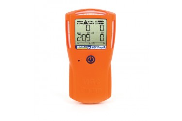 GAS CLIP, MGC-PUMP INFRARED, MULTI GAS DETECTOR, H2S/CO/O2/LEL