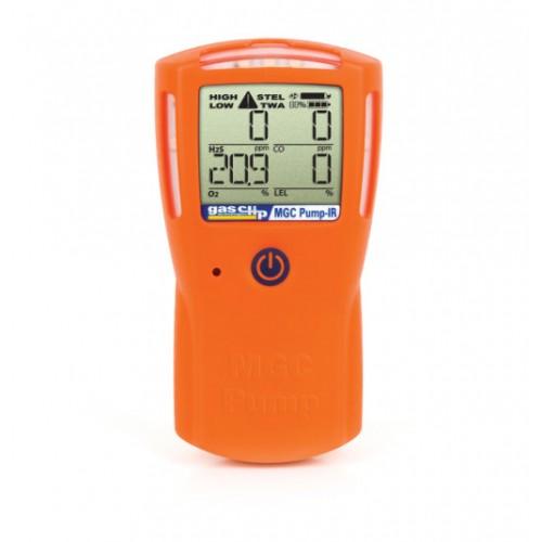 GAS CLIP, MGC-PUMP INFRARED, MULTI GAS DETECTOR, H2S/CO/O2/LEL