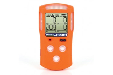 CALIBRATION & SERVICE​ GAS CLIP, MGC-INFRARED, MULTI GAS DETECTOR, H2S/CO/O2/LEL