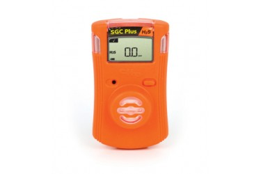 GAS CLIP, SGC-PLUS, SINGLE GAS DETECTOR, H2S (HYDROGEN SULFIDE), ORANGE