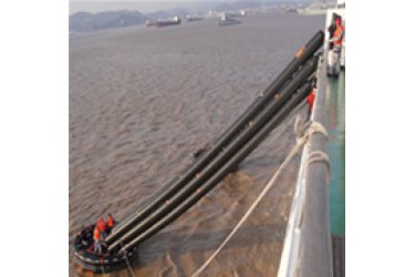 HAINING, Inclined single chute passage marine evacuation system , HN-MES-D-315 model
